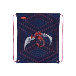 Мешок для сменной обуви Herlitz Red Robo Dragon