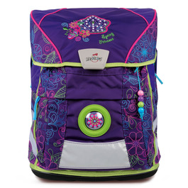 Школьный ранец DerDieDas 8407070 Весенняя принцесса ErgoFlex Vario с наполнением