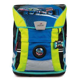 Школьный ранец DerDieDas 8407066 Гонки ErgoFlex Vario с наполнением