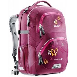 Школьный рюкзак Deuter 80223-5009 Ypsilon Бордовая бабочка