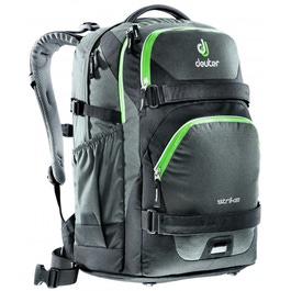 Школьный рюкзак Deuter 3830016-7201 Strike Черный-салатовый