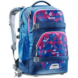 Школьный рюкзак Deuter 3830016-3082 Strike Сине-розовая клетка