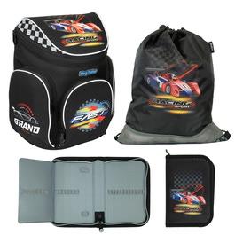 Школьный ранец MagTaller Boxi Racing с наполнением 21616-70