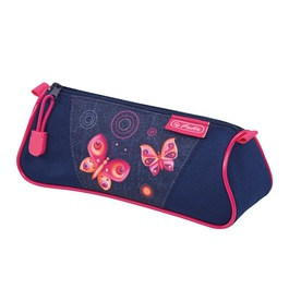 Пенал-косметичка Herlitz Triangular Butterfly Dreams 50014453