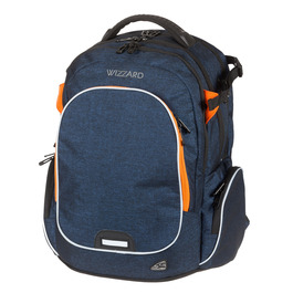 Школьный рюкзак Walker Campus Wizzard Dark Blue Melange 42114/178