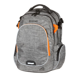 Школьный рюкзак Walker Campus Wizzard Grey Melange 42114/175