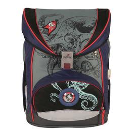 Школьный ранец DerDieDas 8405092 Морской мотив ErgoFlex с наполнением