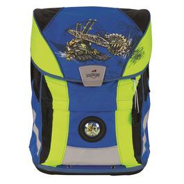 Школьный ранец DerDieDas ErgoFlex Vario Монстер-кар с наполнением 8407103