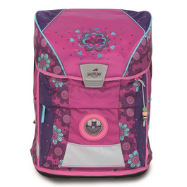 Школьный ранец DerDieDas ErgoFlex Vario Цветочки с наполнением 8407098