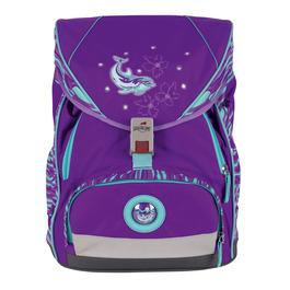 Школьный ранец DerDieDas 8406077 Серебристый дельфин ErgoFlex XL с наполнением