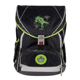 Школьный ранец DerDieDas 8406093 Зеленый динозавр ErgoFlex XL с наполнением