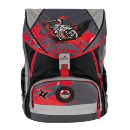 Школьный ранец DerDieDas 8406091 Ниндзя-байкер ErgoFlex XL с наполнением