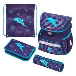 Школьный ранец Herlitz LOOP PLUS Dolphin с наполнением 50020522