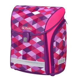 Школьный ранец Herlitz MIDI NEW Pink Cubes без наполнения 50022090