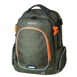 Школьный рюкзак Walker Campus Wizzard Olive Melange 42114/165