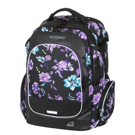 Школьный рюкзак Walker Campus Wizzard Flower Violet 42114/167