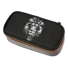 Пенал Walker Fame Lion Black без наполнения 49622/80