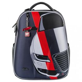 Школьный рюкзак Mike&Mar Машина т.серый 1008-158