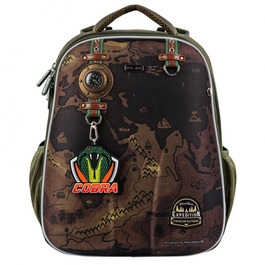 Школьный рюкзак Mike&Mar Travel (Cobra Badg) хаки 1008-173B