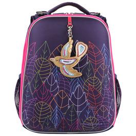 Школьный рюкзак Mike&Mar Птичка фиолетовый 1008-121