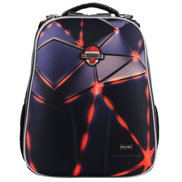Школьный рюкзак Mike&Mar Робот черный/сер. 1008-137
