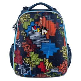 Школьный рюкзак Mike&Mar Пазл синий 1008-151