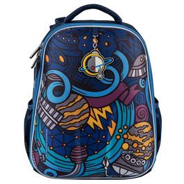 Школьный рюкзак Mike&Mar Космос т.синий 1008-157