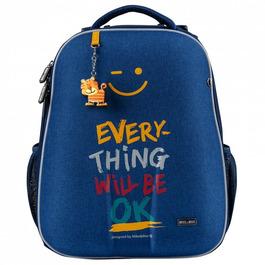 Школьный рюкзак Mike&Mar Ok джинсовый 1008-162
