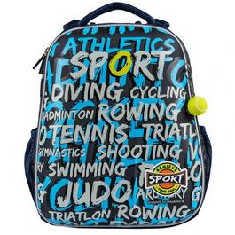 Школьный рюкзак Mike&Mar Спорт синий/т.серый 1008-167