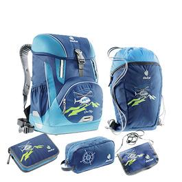 Школьный рюкзак Deuter OneTwo Вертолет с наполнением 5 предметов 4880019-3036/SET3