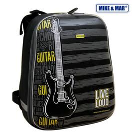 Школьный рюкзак Mike&Mar Гитара т.серый / желтый 1008-68