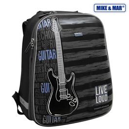 Школьный рюкзак Mike&Mar Гитара черный / синий 1008-69