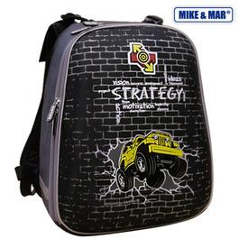 Школьный рюкзак Mike&Mar Стратегия черный 1008-71