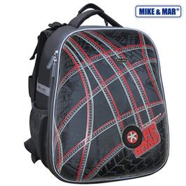 Школьный рюкзак Mike&Mar Авто-фристайл т.серый 1008-81