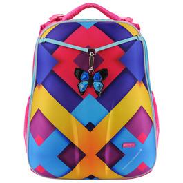 Школьный рюкзак Mike&Mar Абстракция 3D, фиолет 1008-141