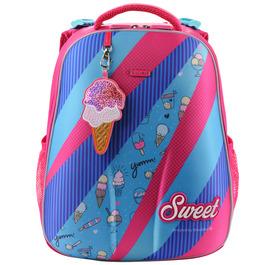 Школьный рюкзак Mike&Mar Sweet малиновый / голубой 1008-144