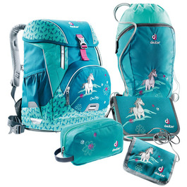 Школьный рюкзак Deuter OneTwo Лошадка с наполнением 5 предметов 4880019-3037/SET3