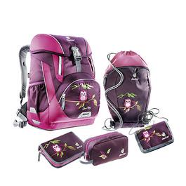 Школьный рюкзак Deuter OneTwo Сова с наполнением 5 предметов 4880019-5509/SET3