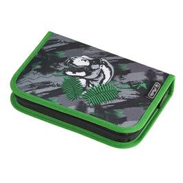Пенал Herlitz Dino Jungle с наполнением 31 предмет 50021017
