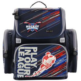 Школьный ранец Mike&Mar Хоккей (серый)+мешок 1074-mm-154