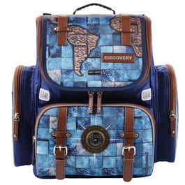 Школьный ранец Mike&Mar Навигация (синий)+мешок 1074-mm-155