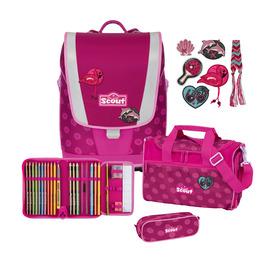 Школьный ранец Scout Ultra Розовая ромашка с наполнением 4 предмета 75400617600