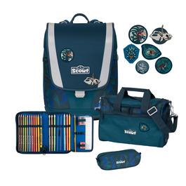 Школьный ранец Scout Ultra Дино в джунглях с наполнением 4 предмета 75400649800