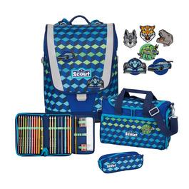 Школьный ранец Scout Ultra Виктор с наполнением 4 предмета 75400639500