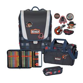 Школьный ранец Scout Ultra Квадрат с наполнением 4 предмета 75400658600