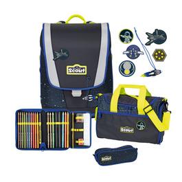 Школьный ранец Scout Ultra Космос с наполнением 4 предмета 75400676100