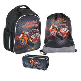 Школьный ранец MagTaller Stoody Motorbike Set 41819-15