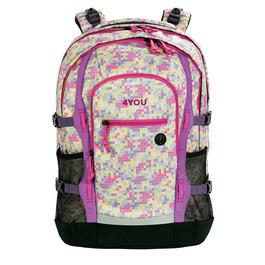 Школьный рюкзак 4YOU Jumpac Пиксели закат 11550020100