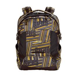 Школьный рюкзак 4YOU Tight Fit Желто-серые полосы 117000-533