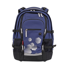 Школьный рюкзак 4YOU Jumpac Синий с белым 11550131100
